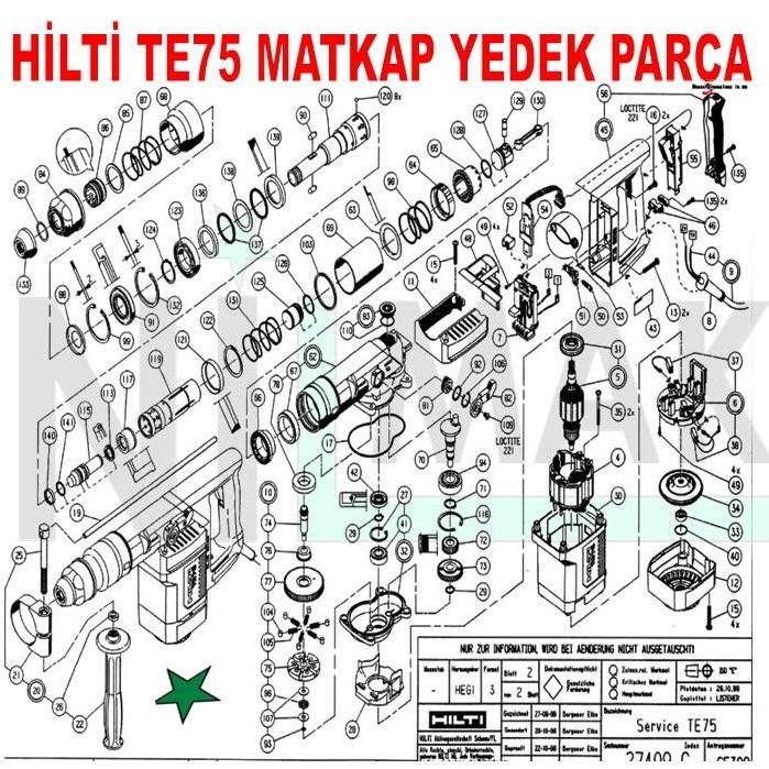 76 hilti hammer drill parts diagram 76 get free image. Black Bedroom Furniture Sets. Home Design Ideas